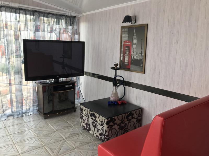 Столовая в отеле Голден Люкс
